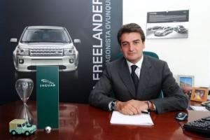 Il direttore flotte di Jaguar Land Rover Italia Paolo Daniele