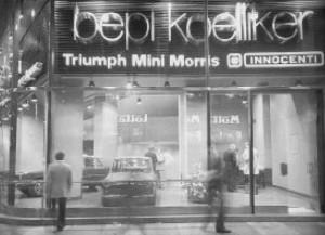 Il Salone Koelliker a San Babila a Milano