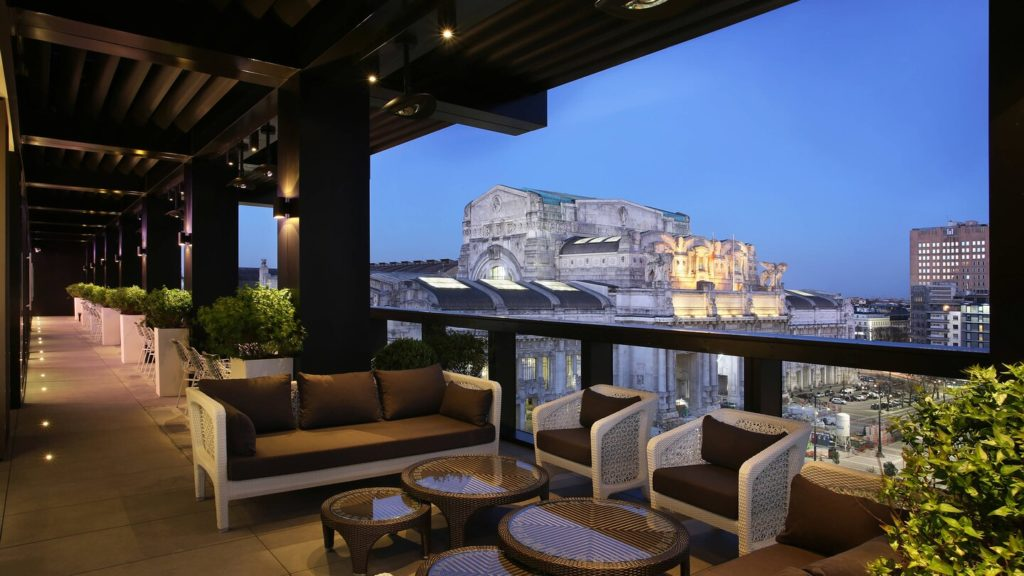 hotel per eventi con terrazza