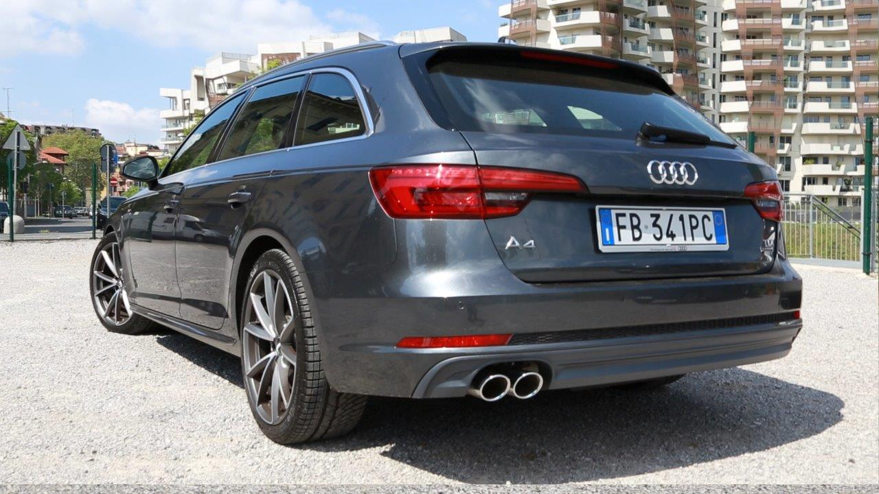 Nuova Audi A4 Avant Quattro Missionline