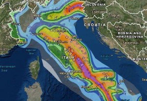 Business travel for Mappa sismica italia
