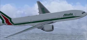Alitalia B777