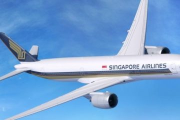 A350 di Singapore Airlines AirHelp