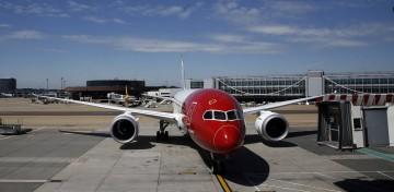Un Boeing 787 Dreamliner di Norwegian