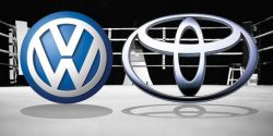 Gruppo Volkswagen e Toyota