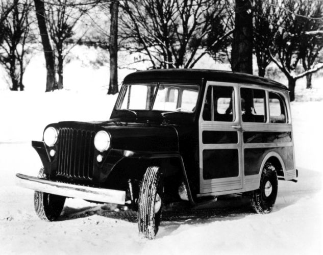 Willys Jeep Wagon 1946