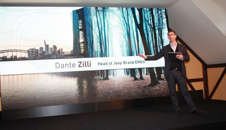 Dante Zilli Head of Jeep Brand Emea
