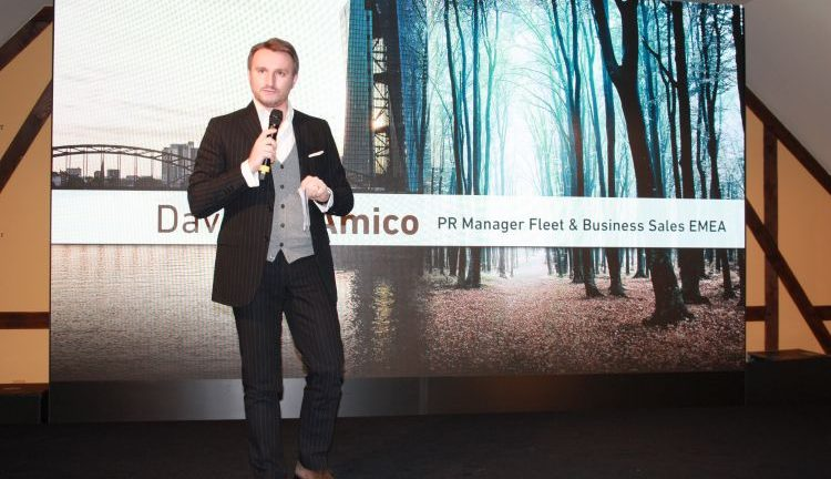Davide D'Amico Pr Manager Fleet & Business Sales Emea