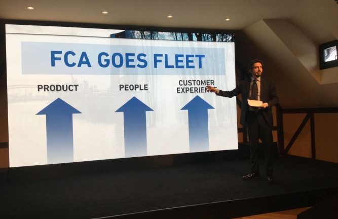 Gianluca Italia managing director Italy e salse director fleet Emea di Fca