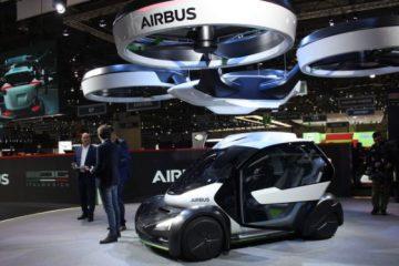 auto volante del futuro