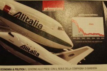 Alitalia, accordo con i sindacati