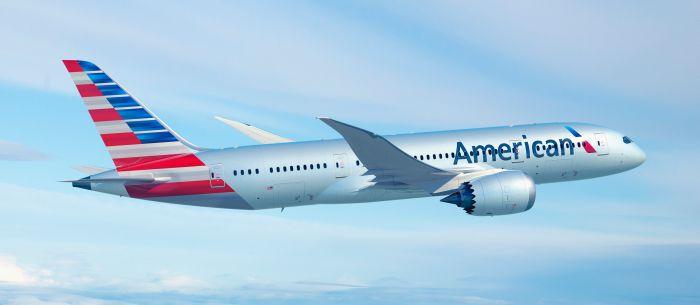 American Airlines decolla sul Roma-Dalla