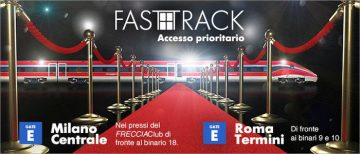 Trenitalia lancia il Fast track