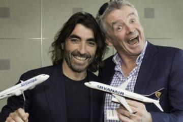 Ryanair accordo per il lungo raggio con Air Europa