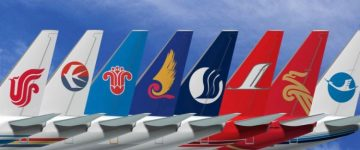 mercato Aviation cinese