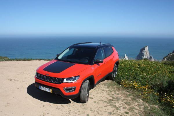 Jeep Compass Trailhawk a Cabo da Roca