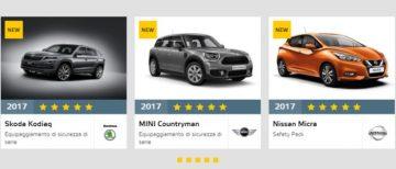 Euro NCAP 5 stelle