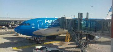 Roma-Buenos Aires di Aerolineas Argentinas