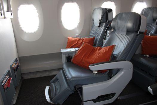 La Premium Economy dell'A350 di Singapore Airlines