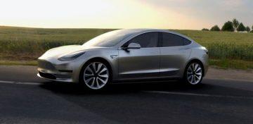 Arriva la Tesla Model 3
