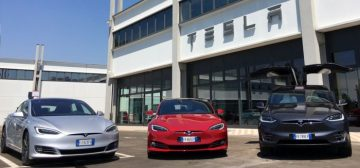 Tesla Service Center Milano Linate