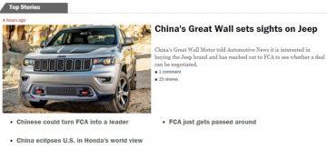 Great Wall vuole Jeep