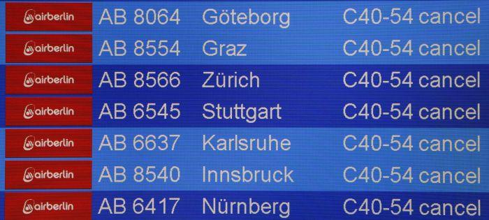 stop ai voli Air Berlin