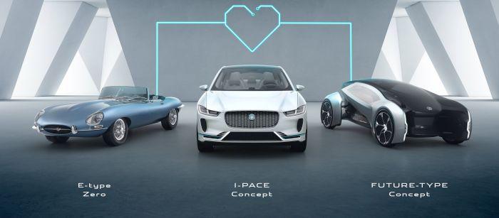 Jaguar Land Rover si elettrifica