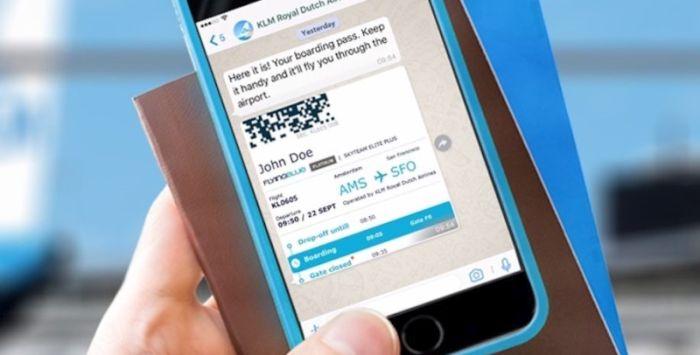 Klm comunica con i passeggeri tramite WhatsApp Business