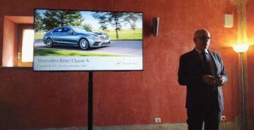 Mercedes Classe S presentata da Eugenio Blasetti