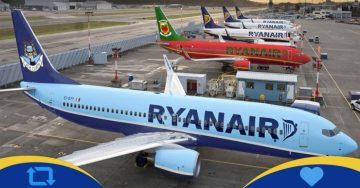 Ryanair cancella voli