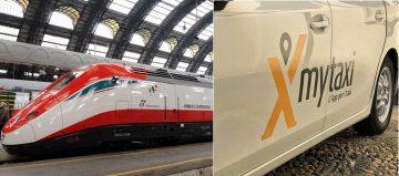 Trenitalia e mytaxi