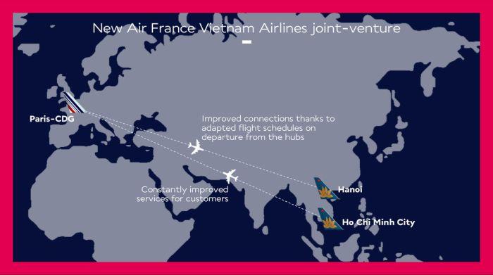 Air France si rafforza sull'Ovest e sull'Est