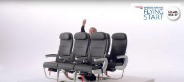 British Airways sceglie l'ironia
