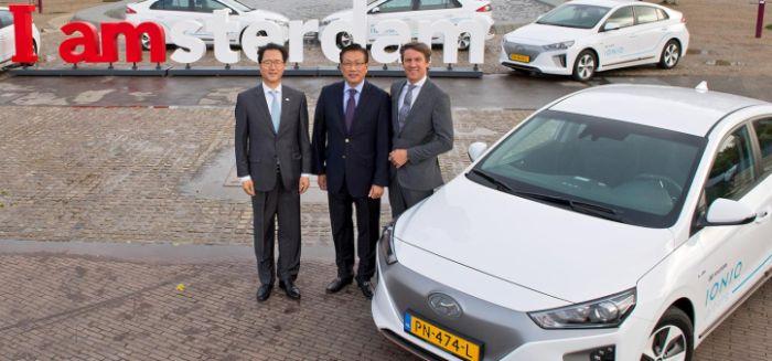 Hyundai sceglie Amsterdam