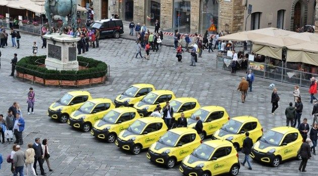 Cala il tasso di motorizzazione in Italia