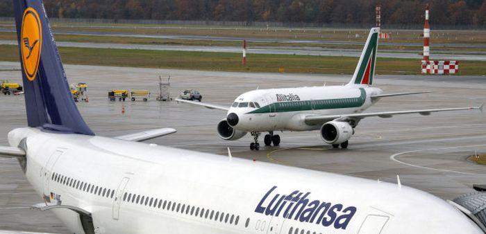 Le mani di Lufthansa su Alitalia
