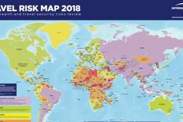 Travel Risk Map 2018