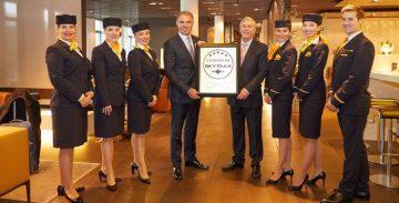 Lufthansa nella top ten a cinque stelle