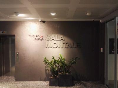 La lounge di Delta a Malpensa