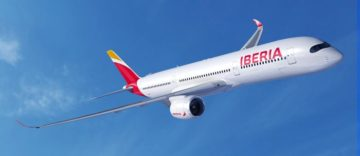 Iberia vola con l'A350-900
