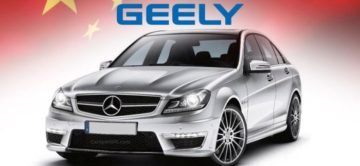 Geely primo azionista di Daimler