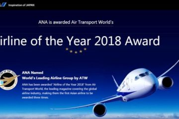 ANA è Airline of the Year
