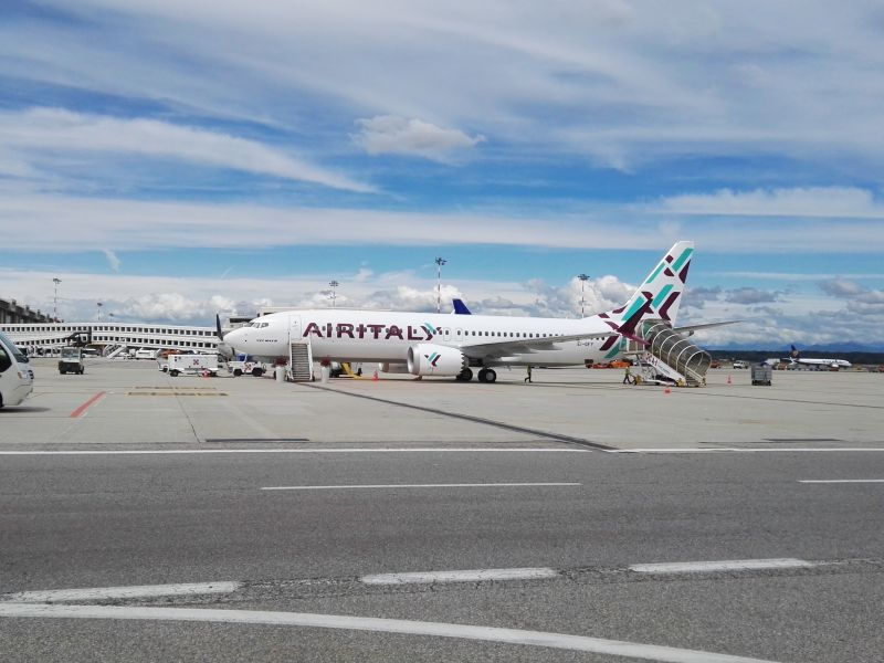 Air Italy: debutto a Malpensa per primo 737 Max (2)