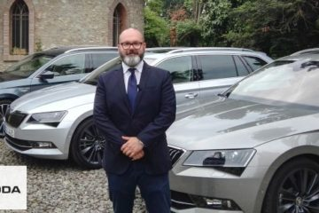 Giorgio Magnanini presenta Škoda superb