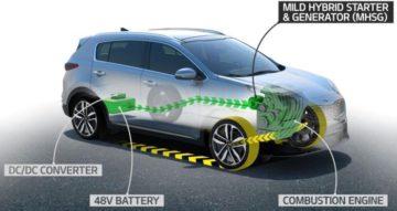 Kia Sportage debutta il Diesel ibrido
