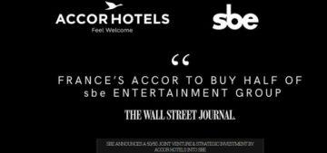 AccorHotels punta al lusso con SBE
