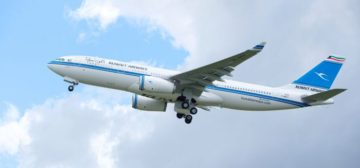 Kuwait Airways atterra su Malpensa