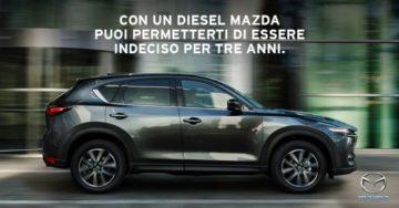 Mazda crede nel diesel