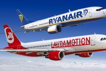Ryanair sale al 75% di Laudamotion